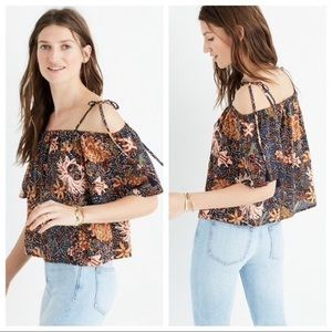 Madewell Tops - Madewell top in sea floral